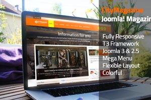 CityMagazine - Joomla Magazine Theme