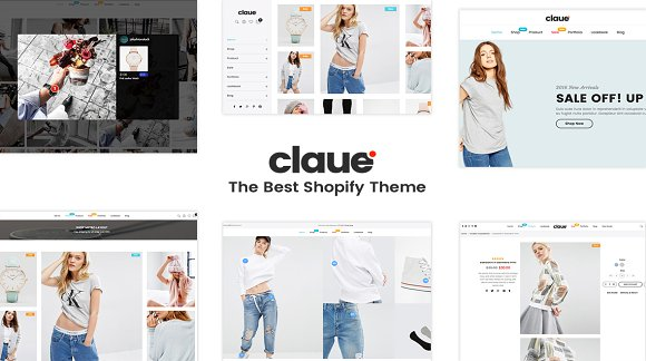 Claue Minimalist Shopify Theme