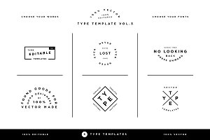 Type Template Vol. 3