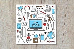My Blog Set + Seamlesses