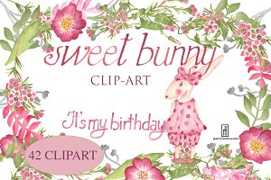 Sweet bunny (It's my birthday)