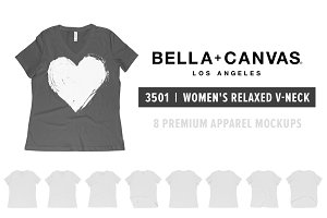 Bella Canvas 6405 Women's V-Neck
