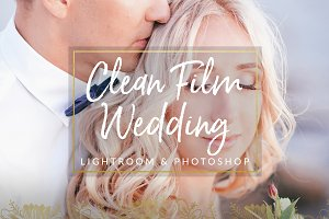 Clean Film Wedding Lightroom & PS