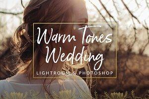 Warm Tones Wedding Preset LR & PS