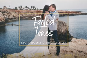 Faded Tones Wedding Preset LR & PS