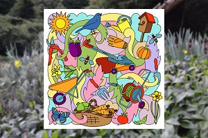 Garden Set + Seamlesses