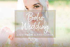 Boho Toned Wedding Preset LR & PS