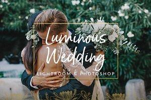 Luminous Film Tones Wedding Presets
