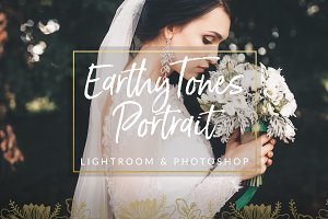 Earthy Toned Wedding Preset LR & PS