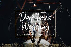 Dark Film Tones Wedding Presets