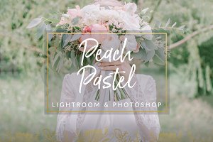 Peach Pastel Wedding Preset LR PS