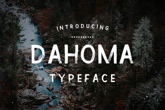 Dahoma Typeface
