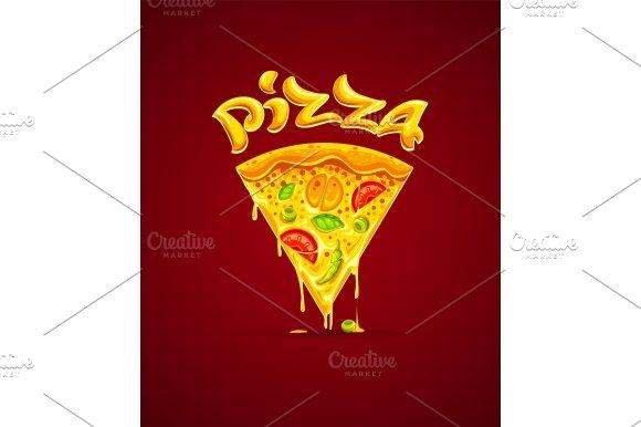 Italian Pizza With Cheese Mozzarella