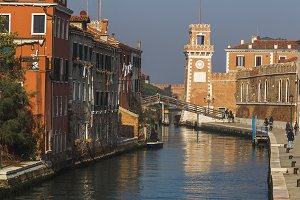 Venice and the Arsenal Tower