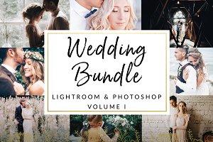 Wedding Bundle 75 Items LR & PS