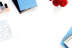Styled Stock Desk Photo