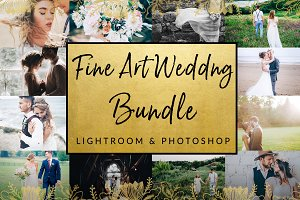 Fine Art Wedding Big Bundle LR & PS