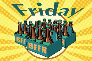 Friday and a lot of beer