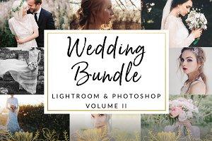 Wedding Bundle Presets VOL ll LR PS