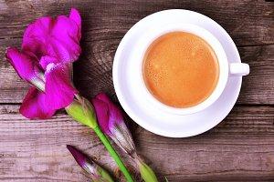 Cup of cappuccin
