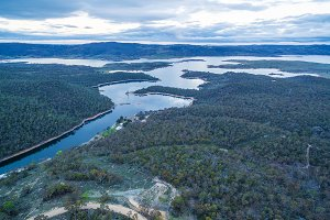 Snowy River and Lake Jindabyne