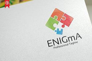 Enigma / Puzzle - Logo Template