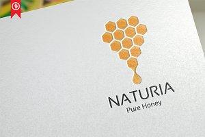 Naturia Honey - Logo Template