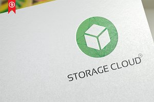 Storage Cloud - Logo Template