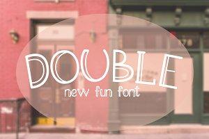 Double Font