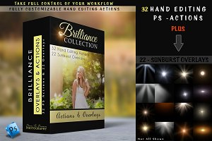 Brilliance - Actions & Overlays