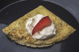 Crepe in a Crepe Pan