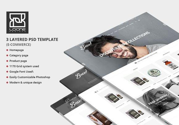 Beard E-Commerce Website