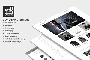Gentleman E-Commerce Website