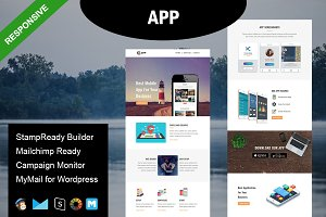 APP- Responsive Email Template