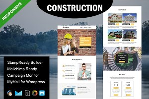Construction - Email Template