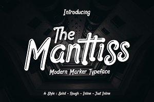 Manttiss Marker Font