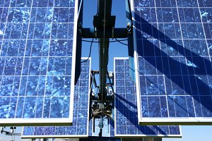 Closeup shot of Solar Panel