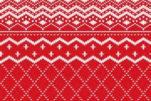 Scandinavian knitted pattern