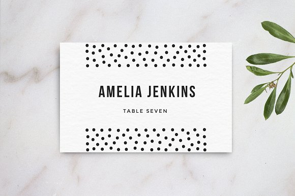 Wedding table name card template card templates on for Table placement cards templates