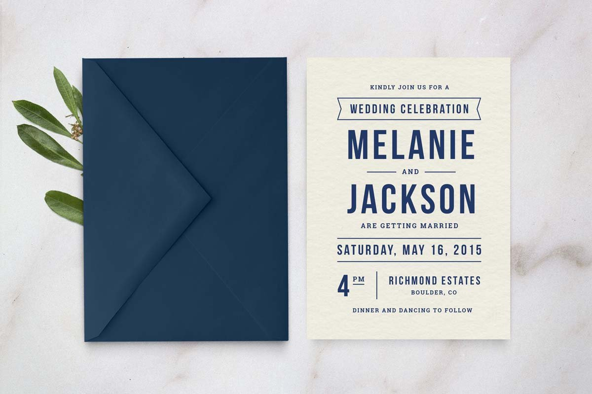 Wedding Invitation Template ~ Invitation Templates ~ Creative Market