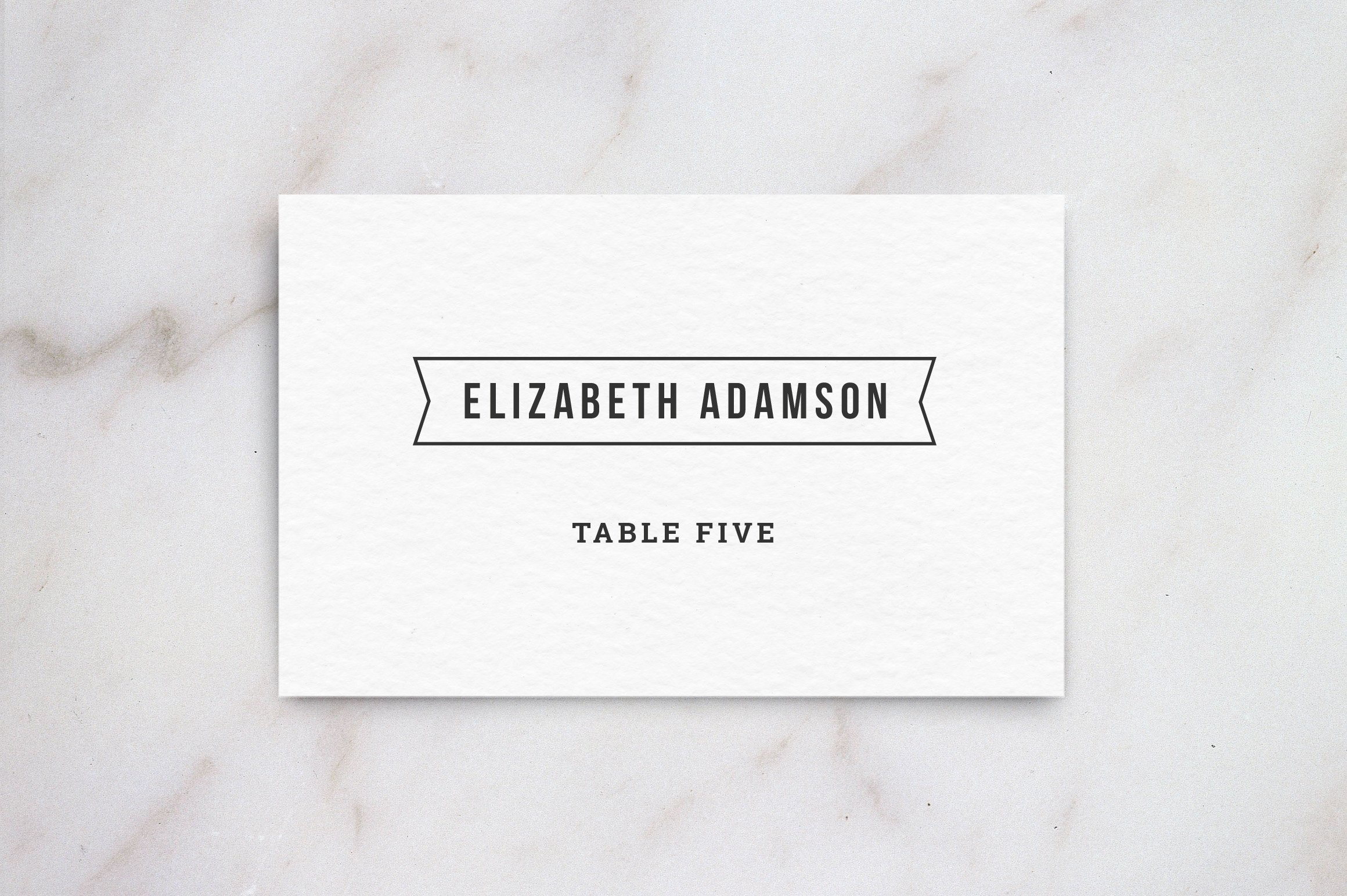 wedding table place card template card templates creative market - Printed Wedding Place Cards