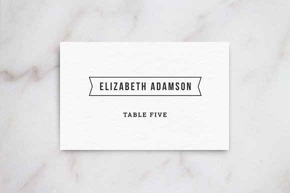 Place Card Size Template Pertaminico - Wedding invitation templates: wedding place card size