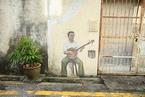 street art in georgetown on pennag