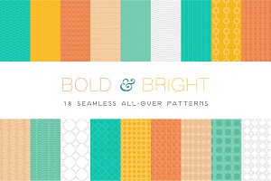 Bold & Bright - 18 Patterns