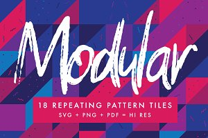 18 Repeating Grid Pattern tiles