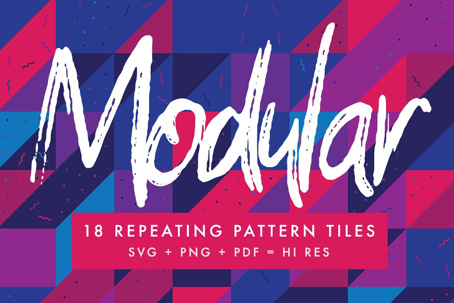 18 Repeating Grid Pattern tiles ~ Graphic Patterns