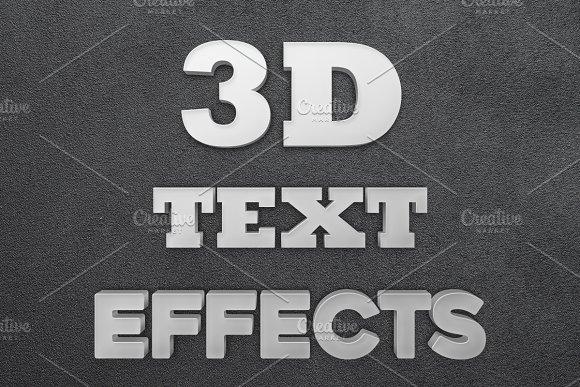 Super Easy 3D Text Creator