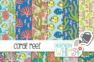 Coral Reef Ocean Patterns