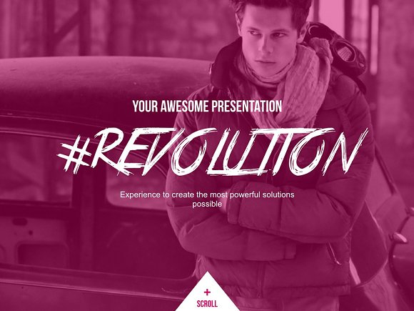Revolution Keynote Template