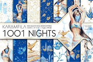 1001 Nights Digital Paper Pack